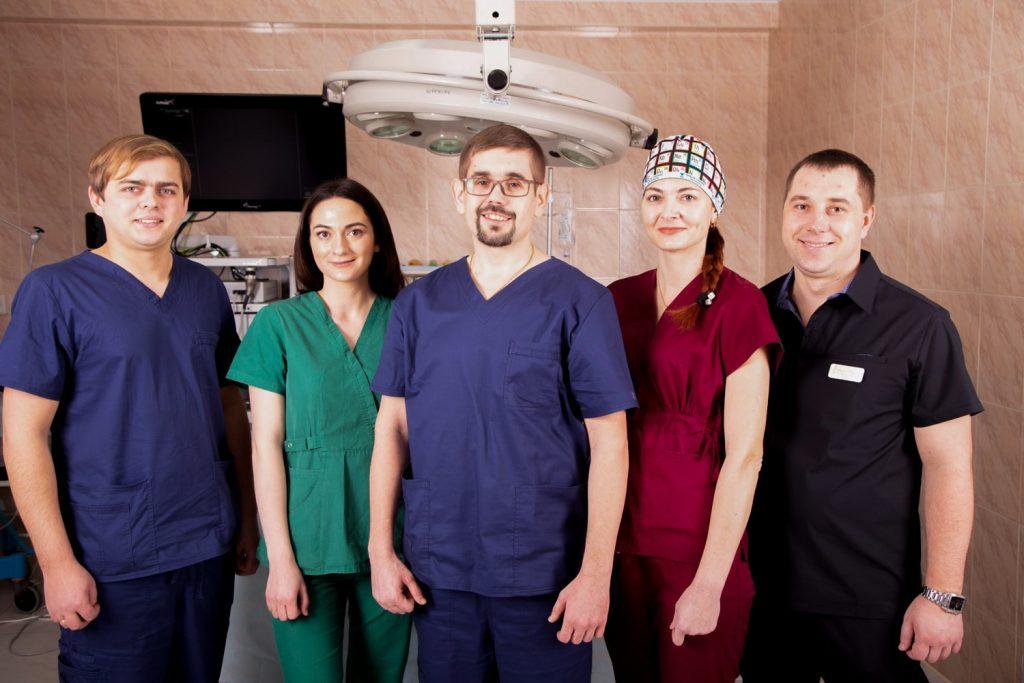 команда клиники бариатрической хирургии